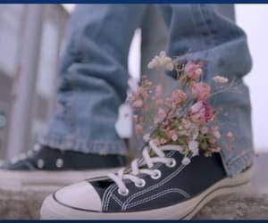 flowers, pentagon, and kpop image
