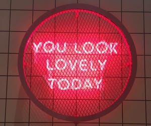 quotes, neon, and lovely image
