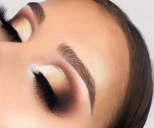 eyeshadow, makeup, and multicolour image