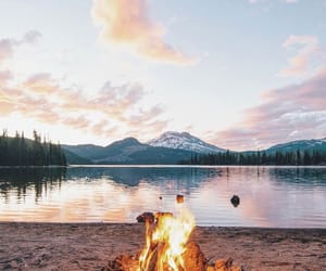 fire, nature, and travel image