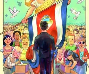 community, costa rica, and democracy image