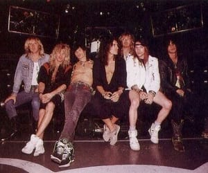 Guns N Roses and aerosmith image