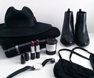 bag, hat, and watch image