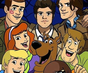 supernatural and scoobynatural image