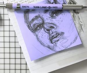 creativity, drawing, and girl image