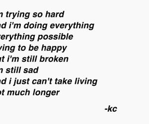 broken, depressed, and sad image