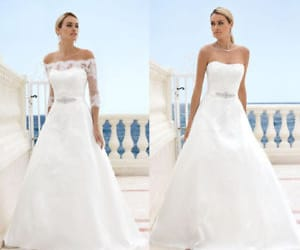 wedding dress and bridal dress image