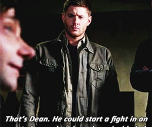 dean winchester, fight, and funny image