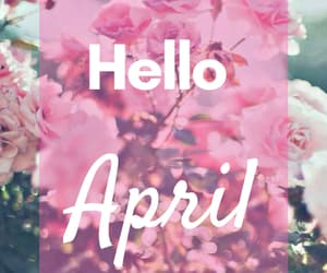 april, flores, and abril image
