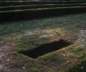grave, grunge, and hole image
