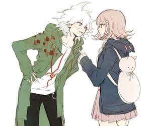 anime, nanami chiaki, and komaeda nagito image