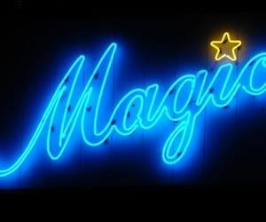 magic, neon, and blue image