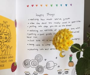 journal, yellow, and aesthetic image