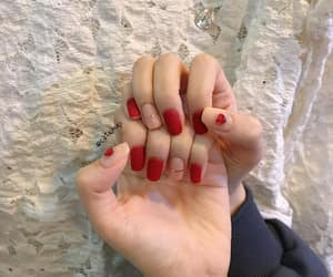 aesthetic, nails, and manicure image