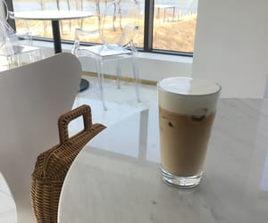 coffee, minimalism, and delicious image
