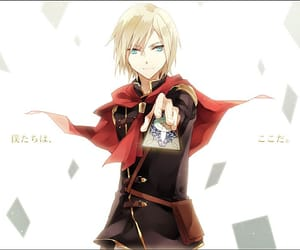 blond, card, and cool image