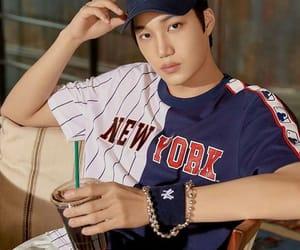 bear, kim jongin, and exo image