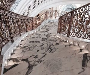 stairs, luxury, and marble image