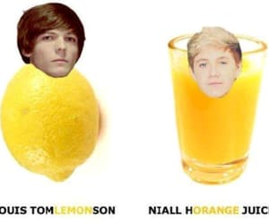 one direction, 1d, and lemon image