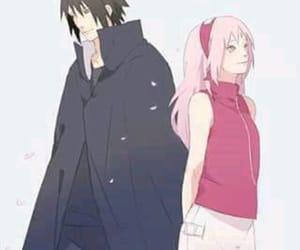 anime, sasusaku, and sakura haruno image