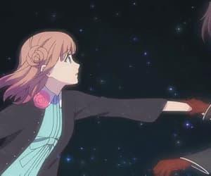 gif, heroine, and anime shoujo image