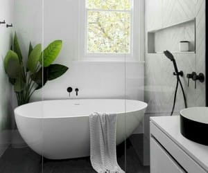 bathroom, interior, and bath image