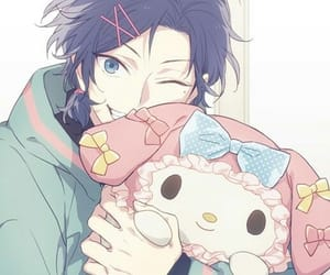 anime, my melody, and anime boy image