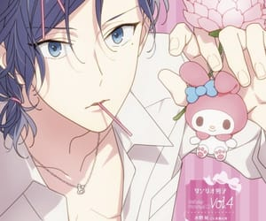 anime, sanrio danshi, and blue eyes image