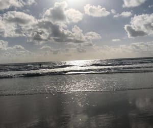 beach, clouds, and mexico image