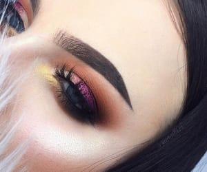 blue, girl girls, and makeup goals image
