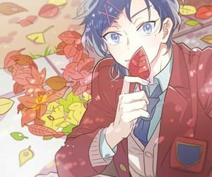 anime, blue eyes, and cool image