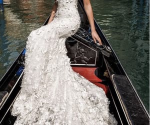 wedding, bride, and fashion image