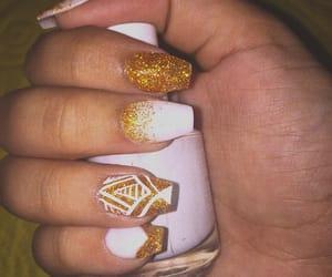 art, white nails, and ًًًًًًًًًًًًً image