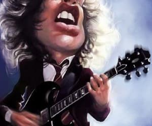 ACDC, art, and caricature image