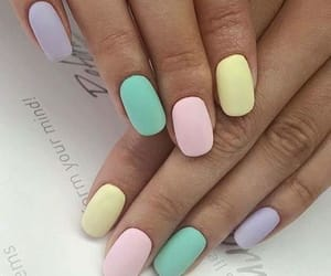 easter, nails, and pastel image