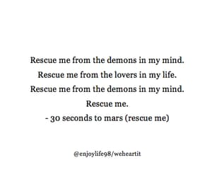 30 seconds to mars, 30stm, and Lyrics image