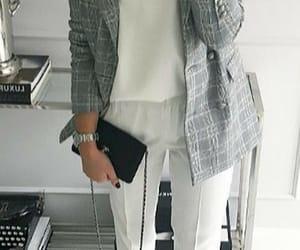 blazer, fashion, and stilettos image