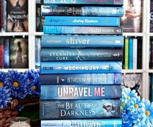 blue, books, and shiver image