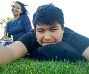 grass, memories, and sky image