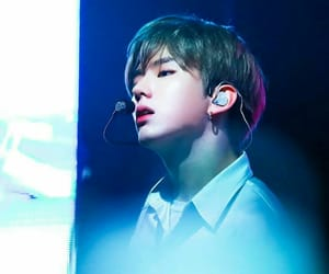blue, handsome, and kpop image