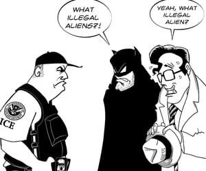 geek, the dark knight, and dc comics image
