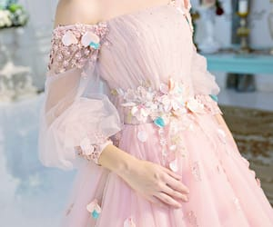 beautiful, gown, and fashion image