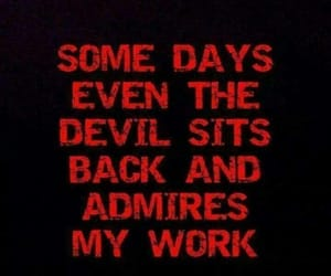 Devil, evil, and quotes image