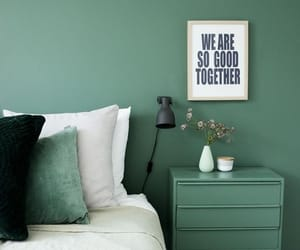 green, room, and decor image