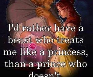 beast, princess, and prince image