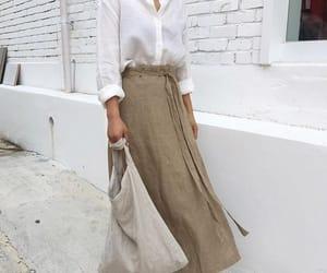 korean fashion, street fashion, and korean outfit image