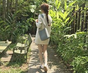 korean fashion, korean girl, and outfit image