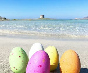 colors, easter, and eggs image