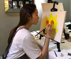 asian girl, korean fashion, and korean girl image