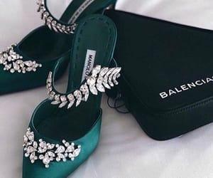 details, dress, and high heels image